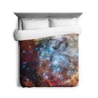 Sharp Shirter R136 Super Star Cluster Duvet Cover
