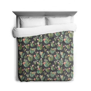 Sharp Shirter Prickly Pattern/ Cactus Duvet Cover/ Printed in Usa