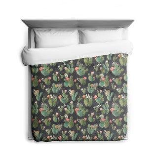 Sharp Shirter Prickly Pattern/ Cactus Duvet Cover/ Printed in Usa