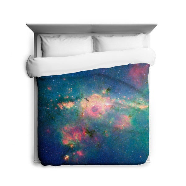 Sharp Shirter Downtown Milky Way Duvet Cover