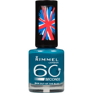 Rimmel London 60 Seconds Nail Polish 844 Out Of The Blue