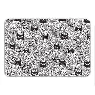 Sharp Shirter Shady Cats Memory Foam Bath Mat