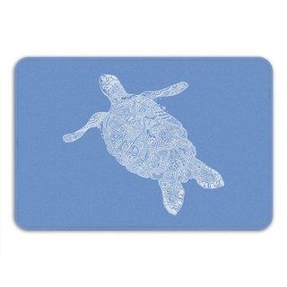 Sharp Shirter Elegant Turtle Memory Foam Bath Mat