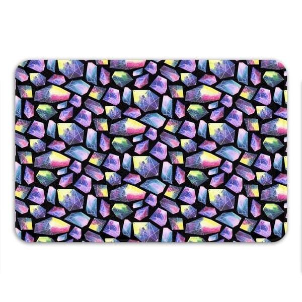 Sharp Shirter Crystal Logic Memory Foam Bath Mat