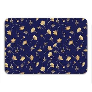 Sharp Shirter Buttercup Memory Foam Bath Mat