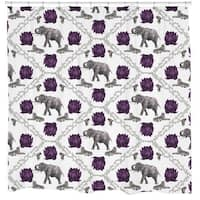 Sharp Shirter Wild Style Shower Curtain