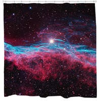 Sharp Shirter Veil Nebula Shower Curtain