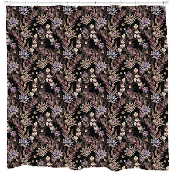 Sharp Shirter Thorns Shower Curtain