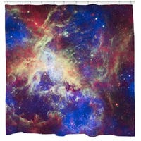 Sharp Shirter Tarantula Nebula Shower Curtain