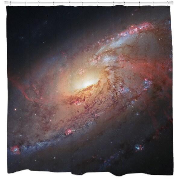 Sharp Shirter Supermassive Black Hole Shower Curtain