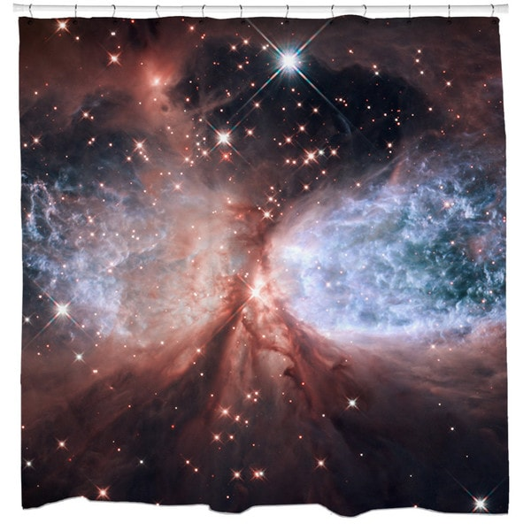 Sharp Shirter Star-forming Region S106 Shower Curtain