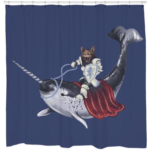 Sharp Shirter Sir Catspian Shower Curtain