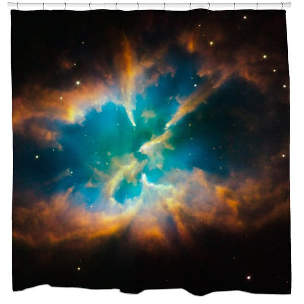 Sharp Shirter Planetary Nebula Ngc 2818 Shower Curtain