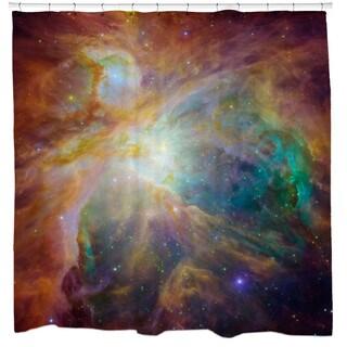 Sharp Shirter Orion Nebula Masterpiece Shower Curtain
