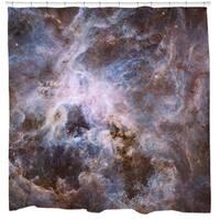 Sharp Shirter Optical View of Tarantula Nebula Shower Curtain