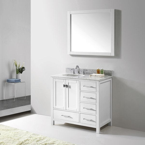 Virtu usa caroline avenue 36 inch single bathroom vanity Virtu usa caroline 36 inch single sink bathroom vanity set