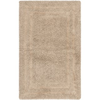 Safavieh Plush Master Grand Border Tawny Bath Rug (1' 9 x 2' 10)