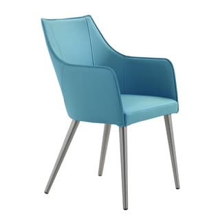 Aurelle Home Modern Leather Dining Chair