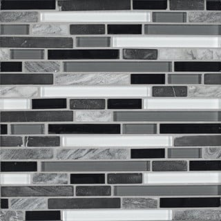 how to do a backsplash in a kitchen black glass tile overstock shopping floor 9729