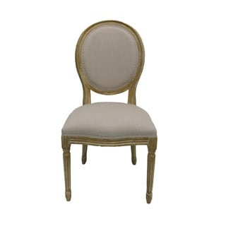 Aurelle Home Solid French Dining Chairs (Set of 2)