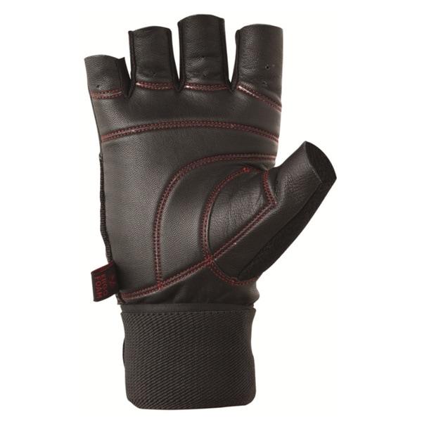 Valeo Pro Ocelot Black Wrist Wrap Lifting Glove