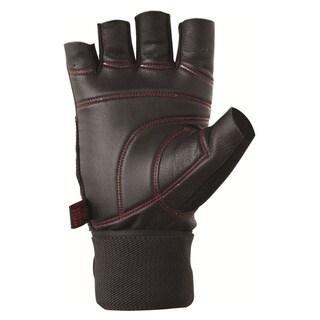 GLOW-BK Pro Ocelot Black Wrist Wrap Glove