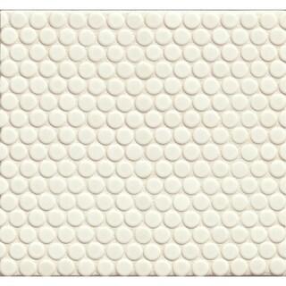 Bedrosians Penny Rounds Mosaic Matte Porcelain Tiles (Set of 10 Sheets)