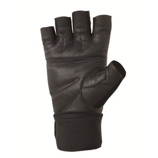 Valeo V335WS/GLLW Pro Competition Goat Leather Wrist-wrap Lifting Gloves
