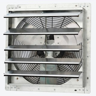 iLIVING 18-inch Variable Speed Shutter Wall-Mounted Exhaust Fan