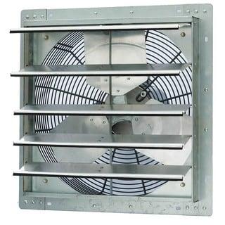 iLIVING 18-inch Single Speed Shutter Wall-Mounted Exhaust Fan