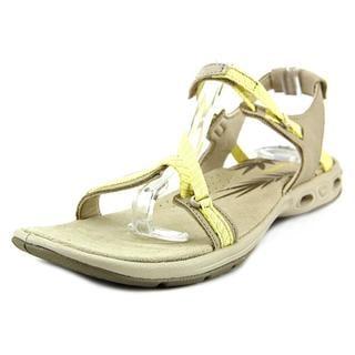Columbia Women's Avo Vent Tan Suede Sandals