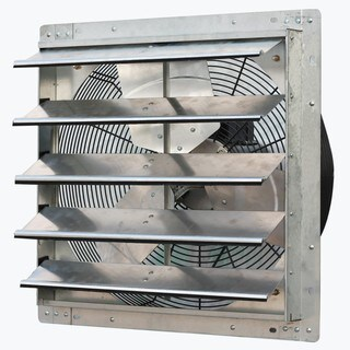 iLIVING 20-inch Variable Speed Shutter Wall-Mounted Exhaust Fan