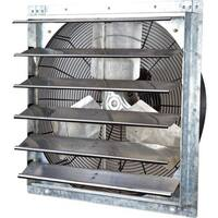iLIVING 24-inch Variable Speed Shutter Wall-Mounted Exhaust Fan