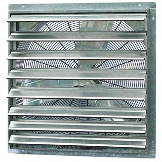 iLIVING 30-inch Single Speed Shutter Wall-Mounted Exhaust Fan