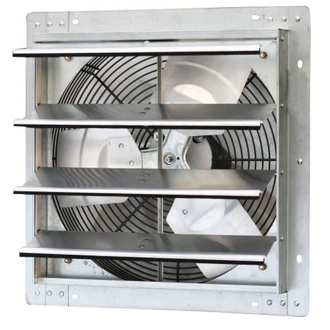 iLIVING 16-inch Variable Speed Shutter Wall-Mounted Exhaust Fan