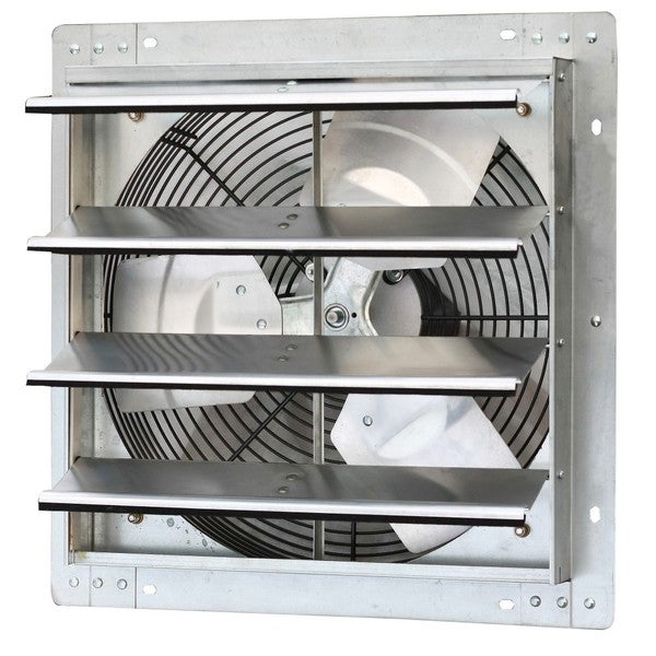 iliving 16 inch variable speed shutter wall mounted exhaust fan - Kitchen Exhaust Fans Wall Mount