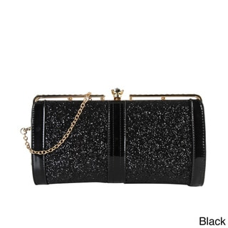 Rimen & Co. Women's Shiny Sequin Clutch Handbag
