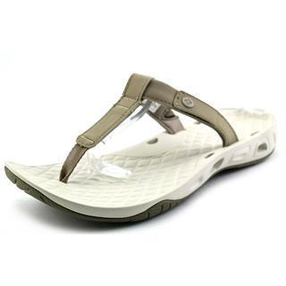 Columbia Women's Sunlight Vent Flip Tan Synthetic Sandals