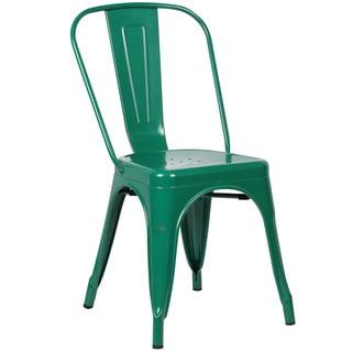 Edgemod Trattoria Matte Metal Dining Side Chair