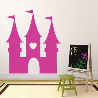Princess Castle' 54 x 60-inch Vinyl Wall Decal
