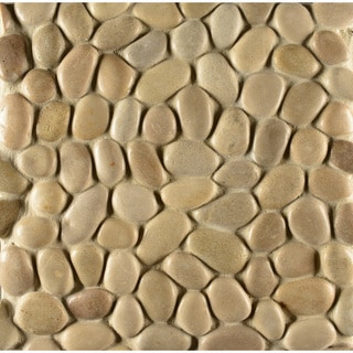 Glazed Pebble Antigua Stone 12-inch x 12-inch Tile (Case of 11 Sheets)