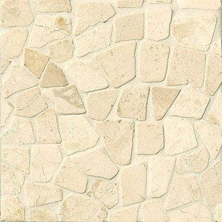 Bedrosians Glazed Crazy Mosaic Bali Stone Tiles (Pack of 11 Sheets)