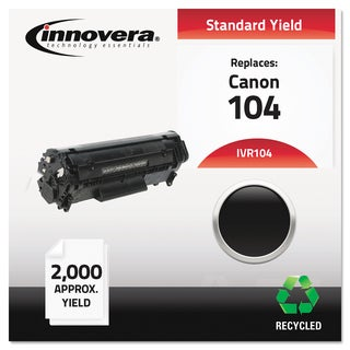 Innovera Remanufactured 0263B001AA (104) Black Toner