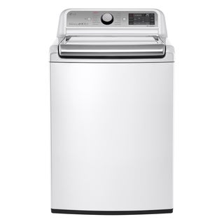 LG WT7600HWA White 5.2-cubic-foot Mega Capacity Top-load Washer with Turbowash Technology