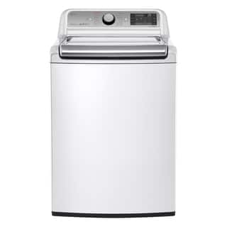 LG White 5.2-cubic-foot Mega Capacity Top-load Washer with Turbowash Technology, Model WT7600HWA|https://ak1.ostkcdn.com/images/products/11987810/P18868241.jpg?impolicy=medium