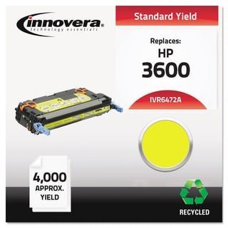 Innovera Remanufactured Q6472A (502A) Yellow Laser Toner
