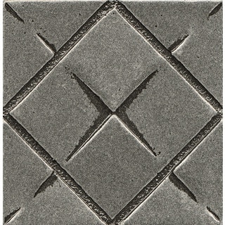 Bedrosians Matterix City Pewter Matte Metal Resin Tile (1 Piece)
