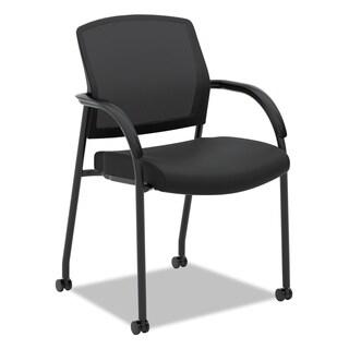 HON Lota Series Black Mesh Guest Side Chair
