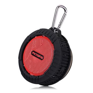 Phoenix Portable Wireless Bluetooth 4.0 Waterproof Black Speaker|https://ak1.ostkcdn.com/images/products/11987969/P18868228.jpg?impolicy=medium
