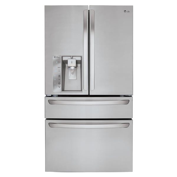 Lg Lmxc23746s Silver Stainless Steel 23 Cubic Foot Large Capacity
